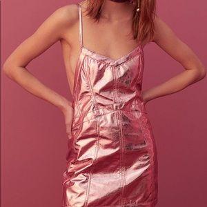 For love & lemons Luna metallic dress
